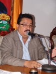 Presidente del CLEC, Julio Castro